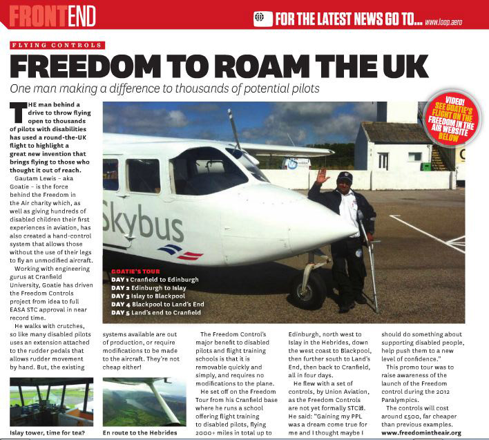 Freedom Flight | UK Tour | Loop November 2011